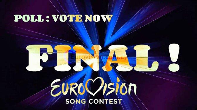"Eurovision Poll 2015 - Final ""Eurovision.com.cy"""