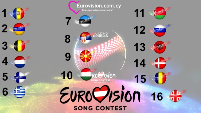 eurovision semi-final 1 vote